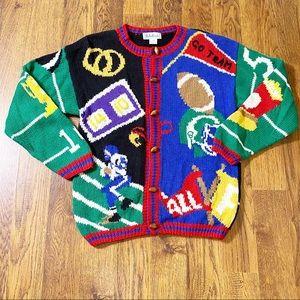 Bellepointe | Women's Football Sweater Size S